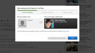 YouTube now encouraging commenters to use their real names