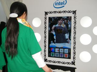 Intel virtual clothing booth pushes AR to extreme