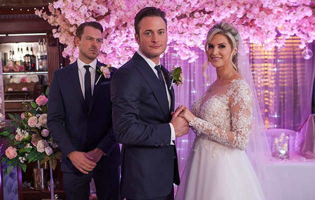 Wedding catastrophe? It's Luke and Mandy's Big Day but is Scarlett about to wreck it?