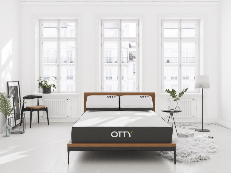 Otty mattress discount in a bedroom
