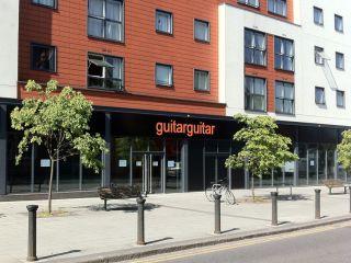 GuitarGuitar's new Epsom store.
