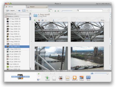 Google Picasa 3.0.3