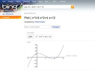 Bing finds a Wolfram at its door