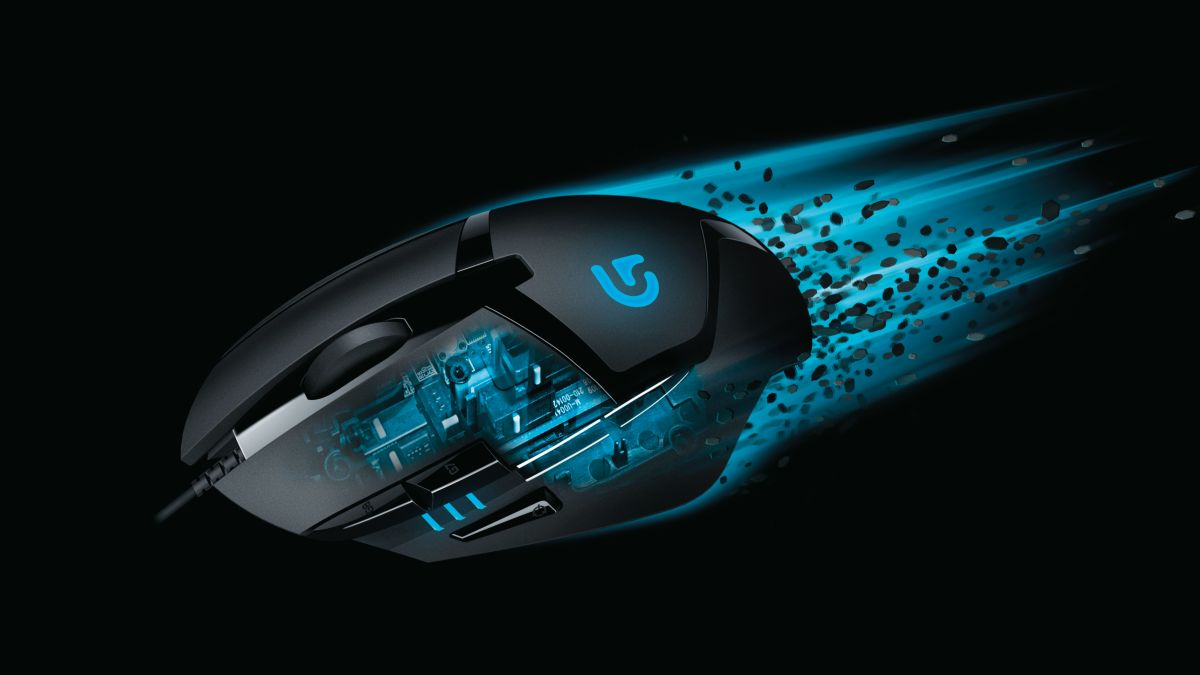 logitech g402 hyperion fury mouse gaming wallpapers fps 4k fastest gamer maus dpi fusion lanza 4000dpi neue test souris exclu