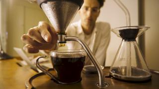 Barisieur coffee and tea alarm clock