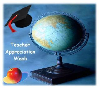 I Teach Because I Can't Do Anything Else: Teacher Appreciation Post