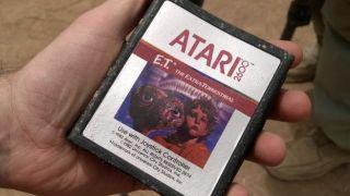 Mystery of the buried E.T. Atari games solved as cartridges found in dump