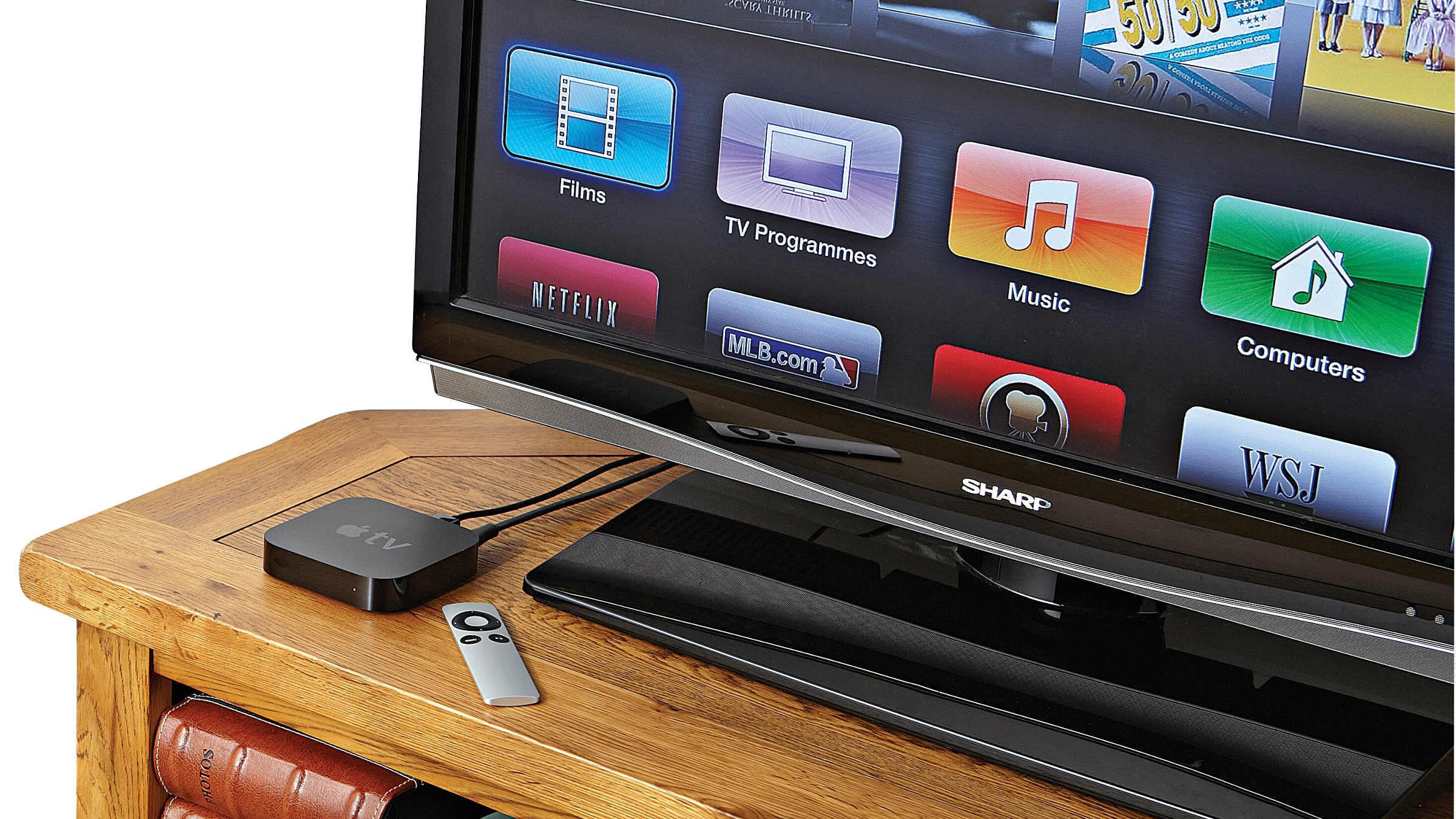 You want the Bluetooth? Apple TV can handle the Bluetooth  TechRadar