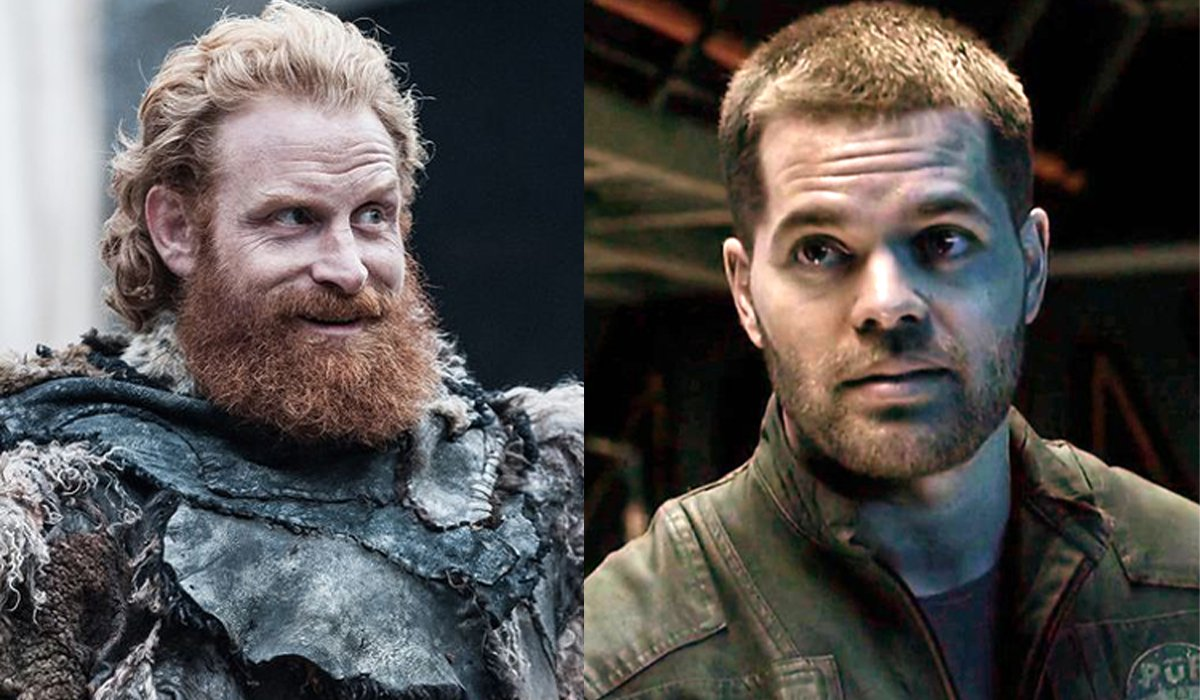 Game of Thrones Tormund The Expanse Amos