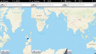One More Thing: iOS Maps turns out to be geographically challenged