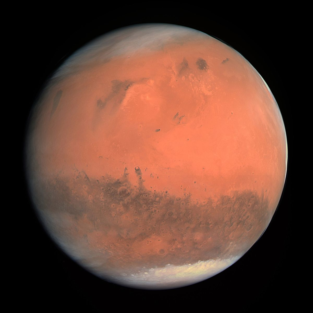 Mars once had rings and a much bigger moon, new evidence suggests
