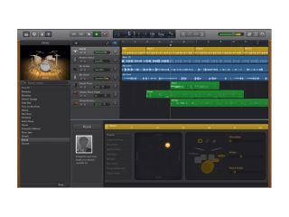 GarageBand for Mac has been tweaked.