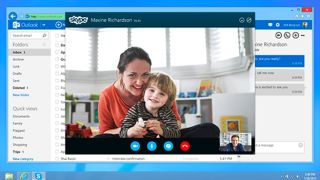 Outlook.com gets Skype call integration to rival Gmail's Hangouts