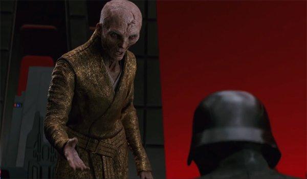 Snoke and Kylo Ren