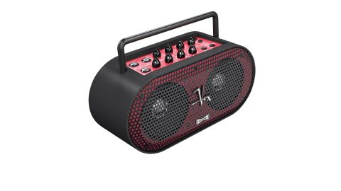The Soundbox differs from its rivals in its portability - not only is it compact, but it can be powered with batteries