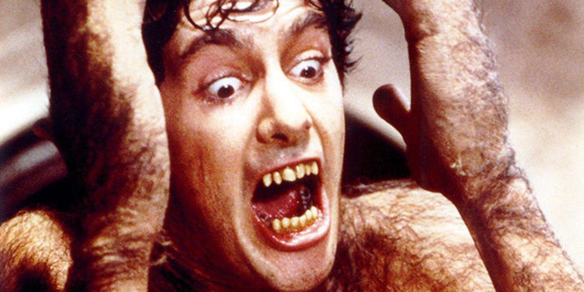 David Naughton in An American Werewolf in London