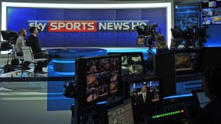 This sporting life: behind the scenes of Sky Sports News HQ