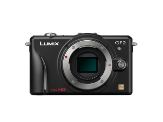 Panasonic DMC-GF2 - smaller than its predecessor