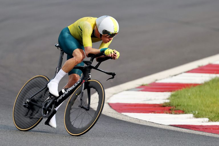 Rohan Dennis at the 2020 Olympic Games
