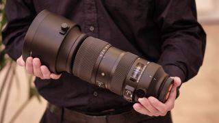 Sigma 60-600mm lens