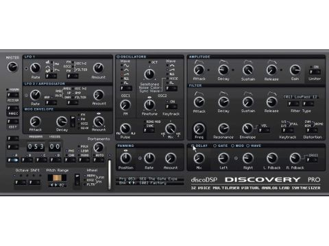 Discovery Pro is an evolution of the original Discovery synth.
