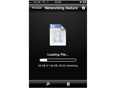 MobileMe iDisk for iPhone