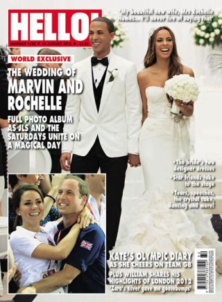 Saturdays' Rochelle and JLS star Marvin marry