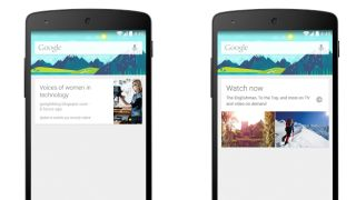 oogle Now puts more Cards on the table with movies blogs and traffic updates
