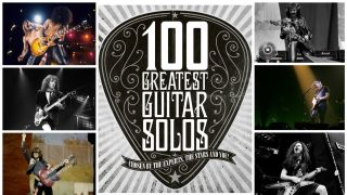 A graphic showing the 100 greatest soloists