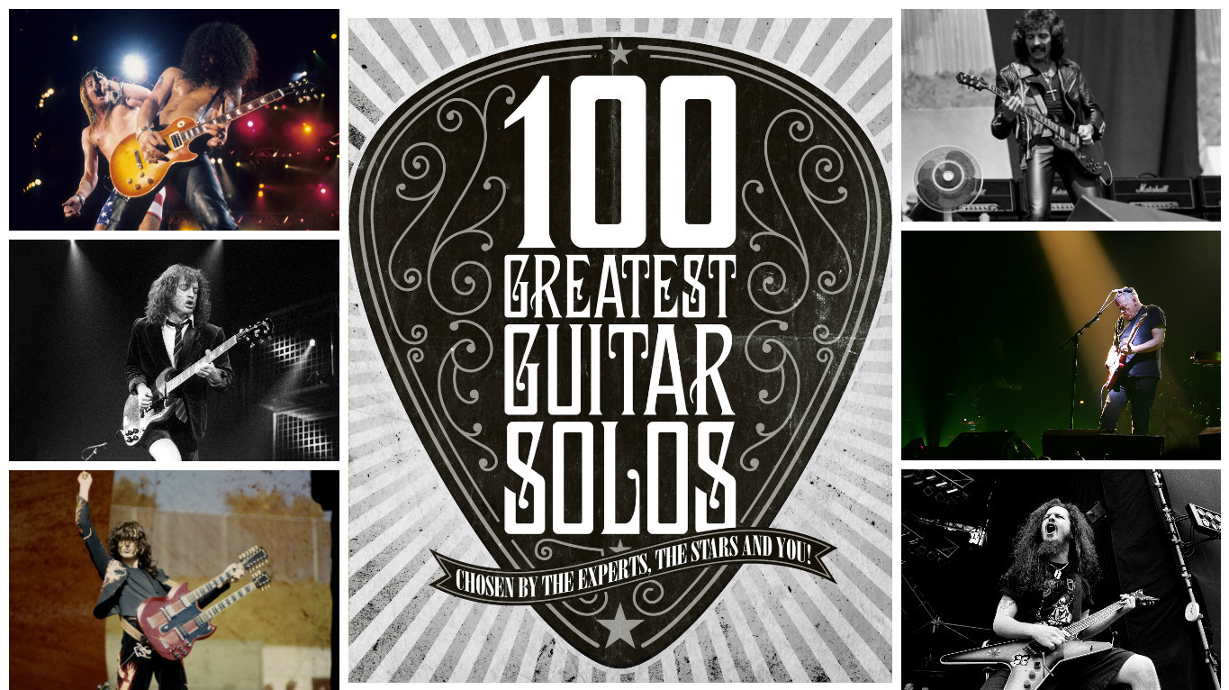 The 100 Greatest Guitar Solos Of All Time Louder