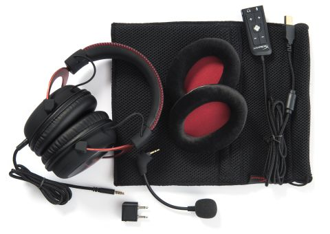 HX Cloud II RED accessories