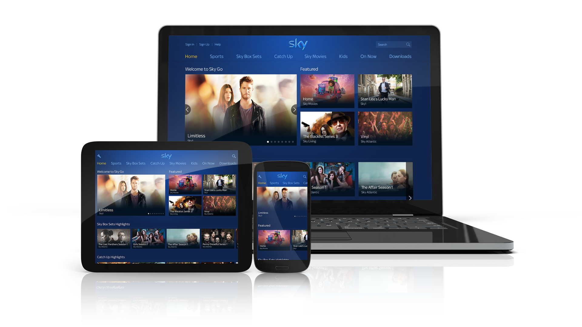 Sky Go gets a new design, but now we wait for new features | TechRadar