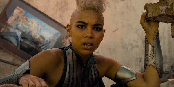 Alexandra Shipp as Storm, who could be the next Queen of Wakanda