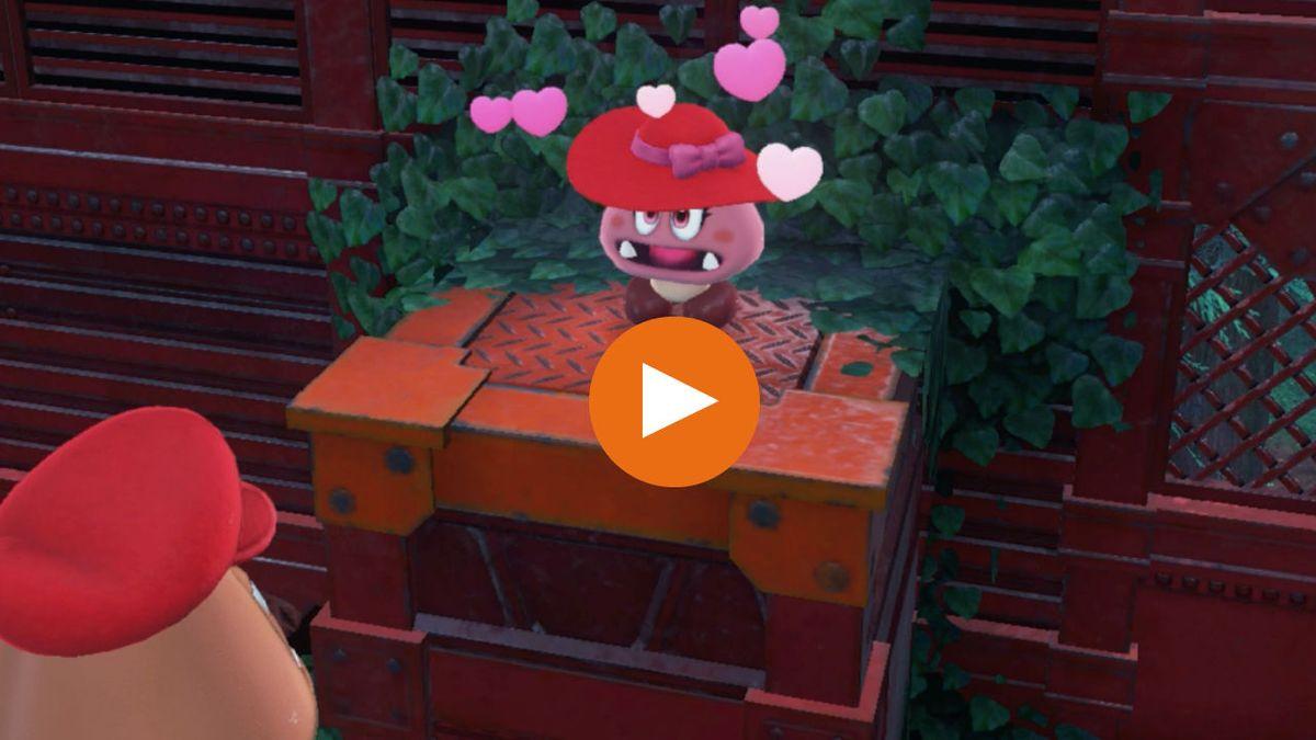 Where To Find Every Hidden Goombette In Super Mario Odyssey