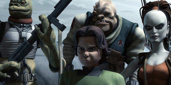 Boba Fett animated star wars: the clone wars