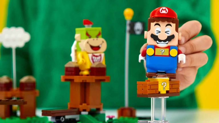 Selfridges Christmas toys: LEGO Mario and Bowser lego figures