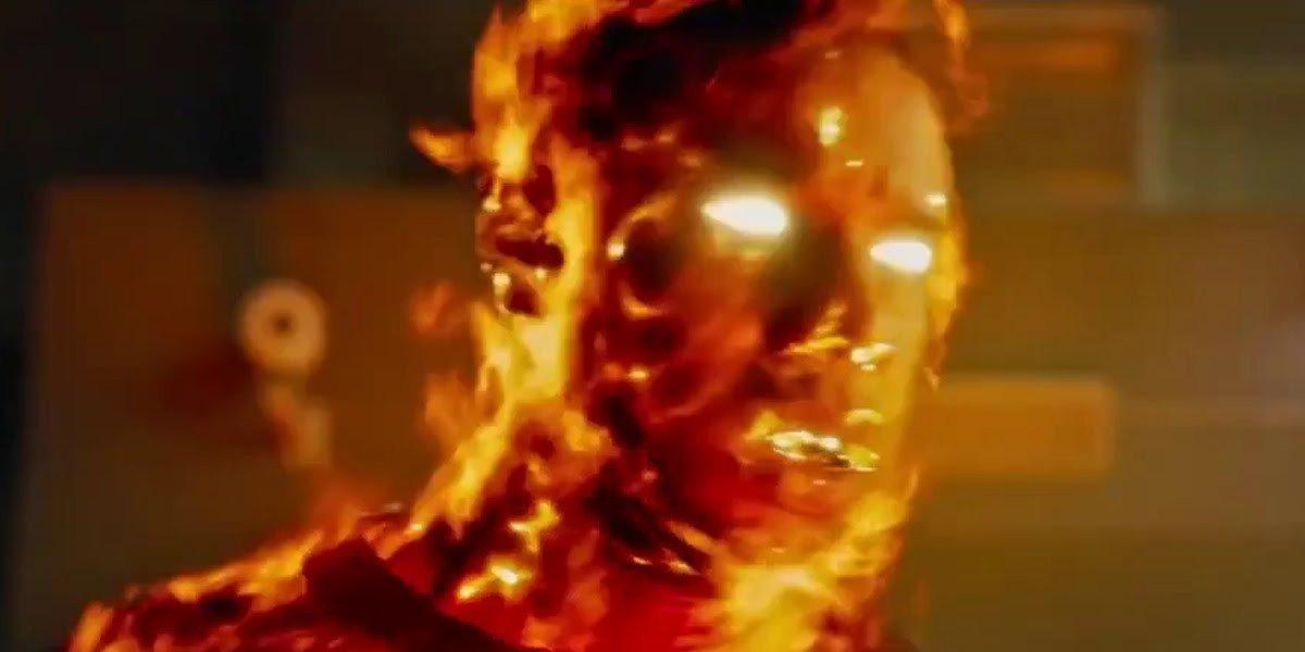 Michael B. Jordan on fire