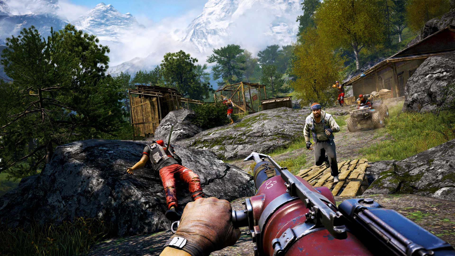 Second Far Cry 4 Dlc Pack Adds New Missions And Weapons Pc Gamer