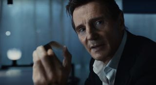 Liam Neeson in Time-Traveling LG Super Bowl Ad