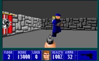 Wolfenstein 3d Dos