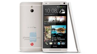 HTC M4 render claims to show HTC One mini, seems pretty dubious