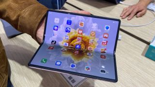 We've had our hands on Huawei's new foldable phone