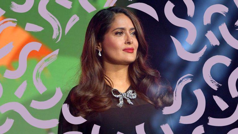 long hairstyles for women over 50 Salma Hayek