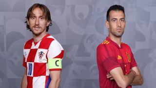 live stream Croatia vs Spain at Euro 2020