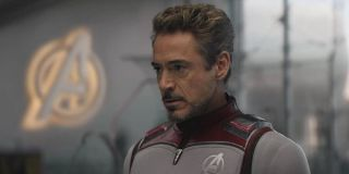 Tony in his Quantum Suit