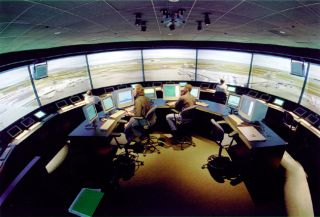 space history, air traffic control