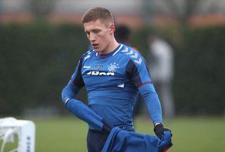 Rangers Training Session – Hummel Training Centre