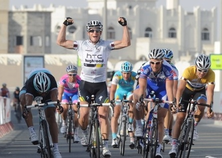 Mark Renshaw wins, Tour of Qatar 2011, stage four