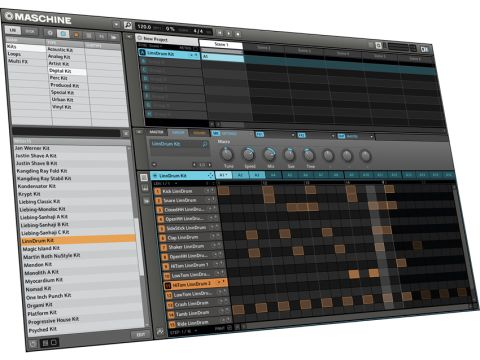 All of the changes in Maschine 1.5 have been made to the software.