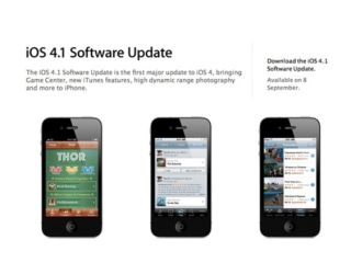 Apple finally puts iOS 4 1 live